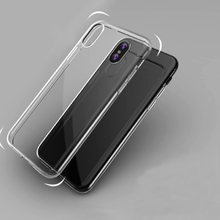 high quality soft TPU 0.3mm ultrathin clear transparent mobile phone case cover for iphone 6 6s 7 7plus 8 X