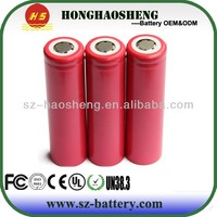 18650 3.7V 2250mAh sanyo Li-ion rechargeable battery