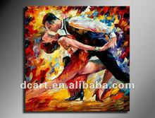 Modern Dance Couple Painting