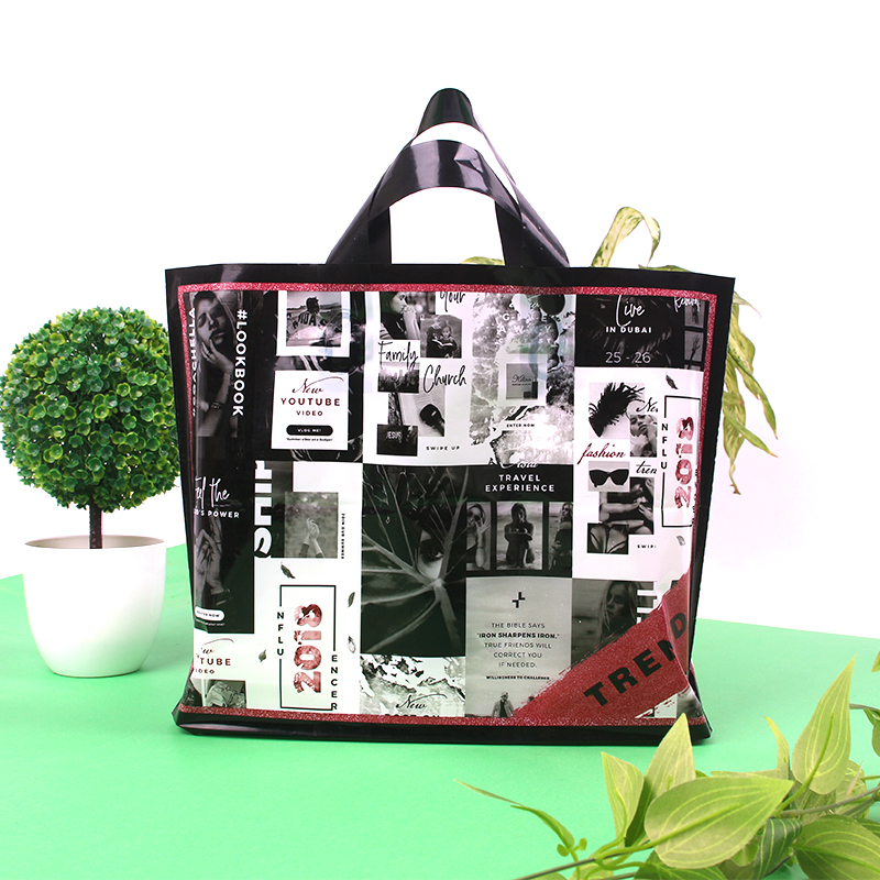 b18fbec4a5cc T-shirt Packaging Supermarket Tote Candy Plastic Carry Bag - Buy ...