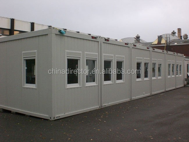 professional design and produce 20' portable storage container house and folder container house