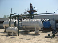 Used motor oil to diesel machine used oil refining equipment continuous waste oil recycling distillation plant with CE and SGS