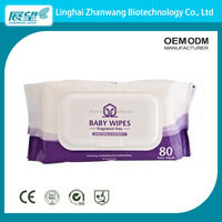 OEM Cotton Baby Skin Care Hand and Mouth Wipe Manufacturer from China Lowest Price