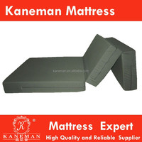 Hot selling!!! Wholesale Comfortable 3 folding foam mattress