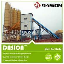 self loading concrete mixer plant HZS ready mixed concrete batching plant for sale with high efficiency