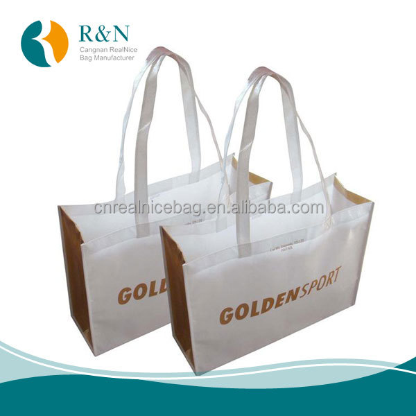 Made in China Factory Price Customized Logo Printed Promotional Reusable Shopping Non Woven Bag