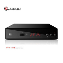 JUNUO wholesale software upgrade remote control dvb t2 H 265 set top box germany