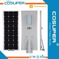 solar lamp 20w solar auto sensing led street light with battery backup