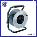 European style IP44 Extension Cords 50m high quality electric cable reel