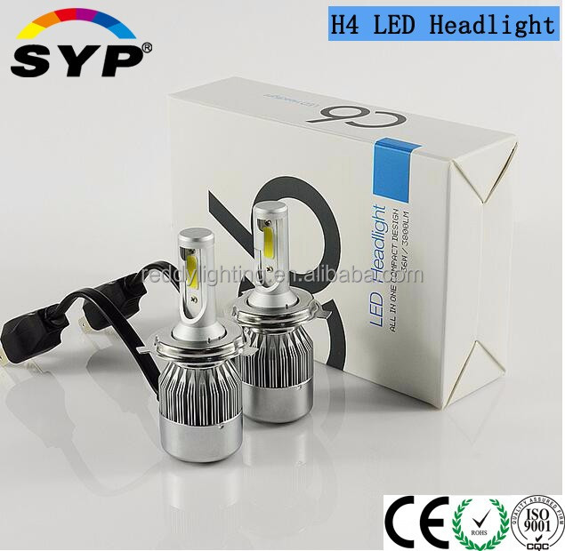 Car Accessories - Super Bright H4 Auto Led Headlight With Perfect Heat Dissipation Auto Headlight Car/truck/bus 12v/24v H4 H7 H1