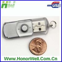 Transparent Mini Swivel USB Memory 16GB 32GB
