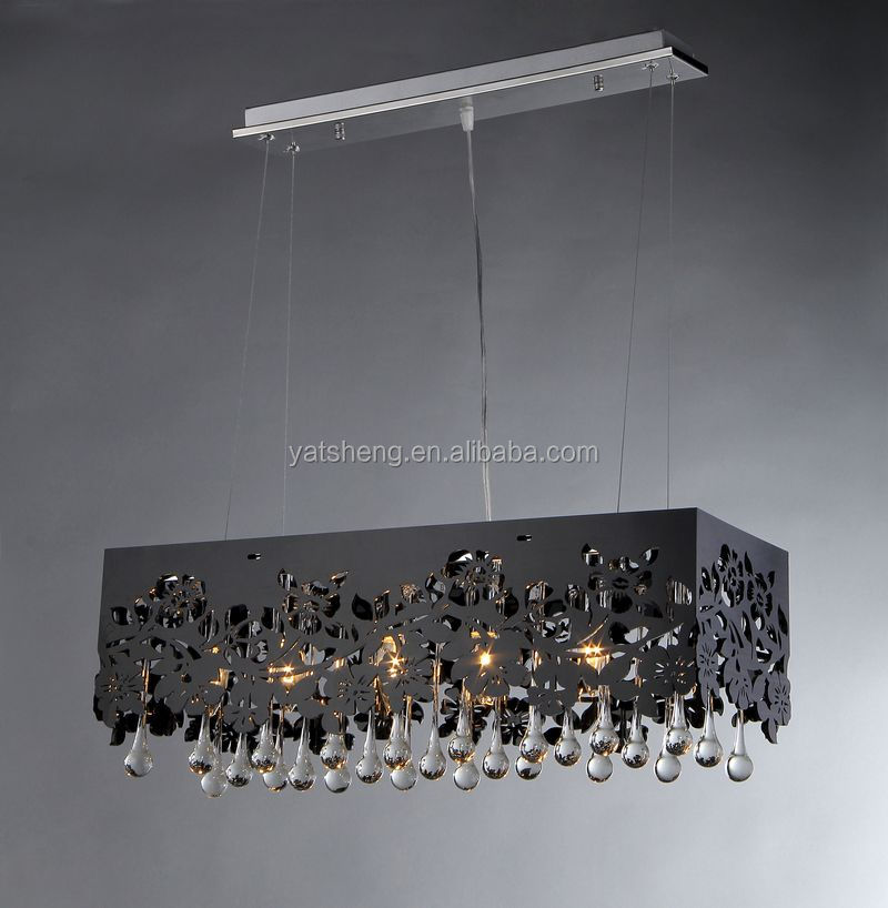 Morden crystal pendant light for America