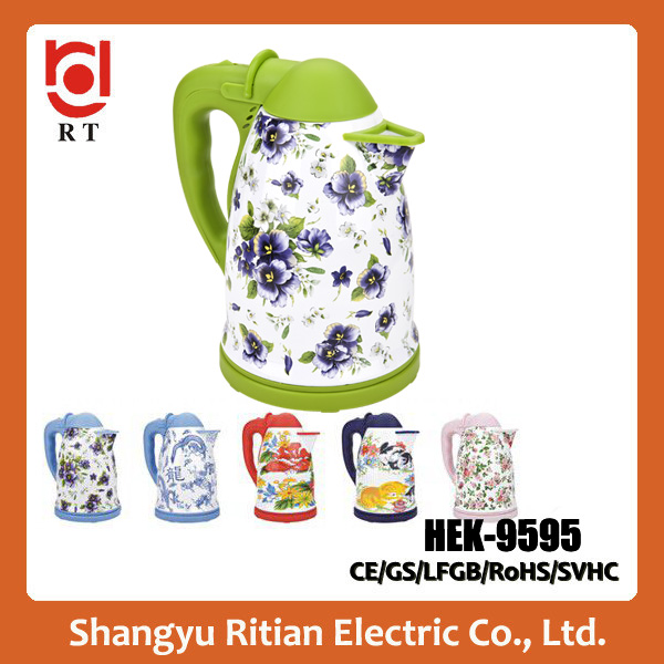 electric auto shut-off best quality enamel hot water kettle