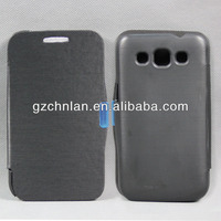 Factory price for samsung galaxy win i8552 flip leather cover