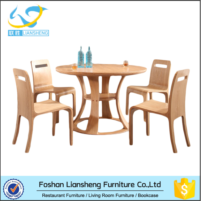 Wholesale restaurant wooden table furniture in poor price