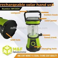 Stronger durable convenient rechargeable lantern with radio