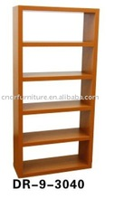 5 tier wood bookcase