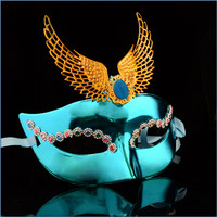 Alibaba wholesale halloween magnetic plastic silicone female mask