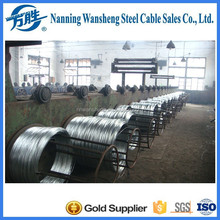 1.1mm Galvanized Carbon Steel Wire for Amouring Cable