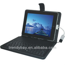 Fashion style 10 inch tablet pc keyboard/case