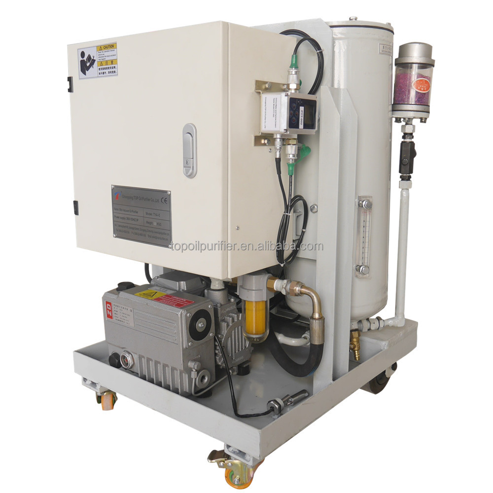 Good Performance 1800L/H Marine Fuel Oil Vacuum Filtration Machine