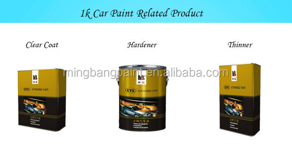1k Solid Color Acrylic Car Paint & Coating Refinish