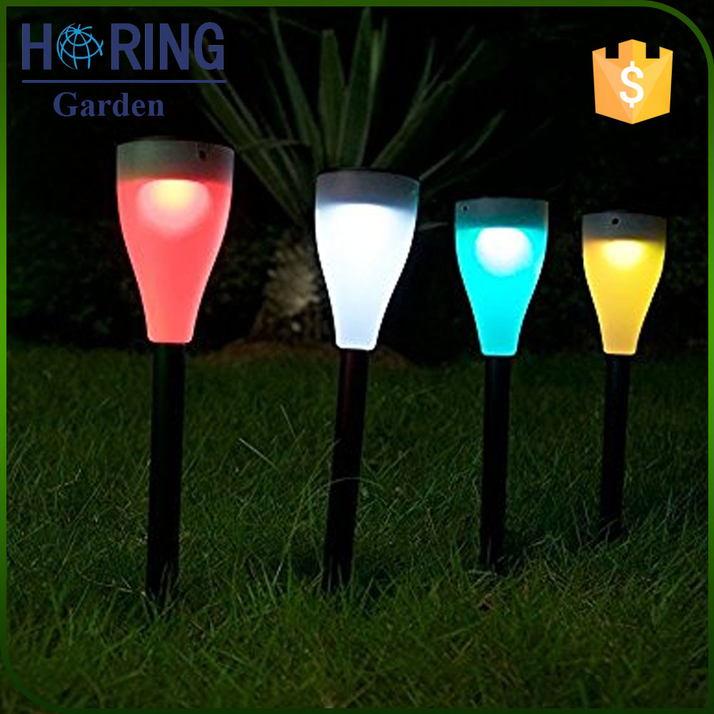 Color Changing RGB Landscape Patio Hanging Outdoor Solar Powered Garden Lights