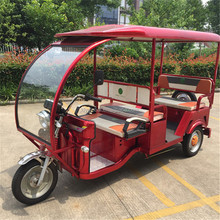 battery operated electric tricycle rickshaw adult