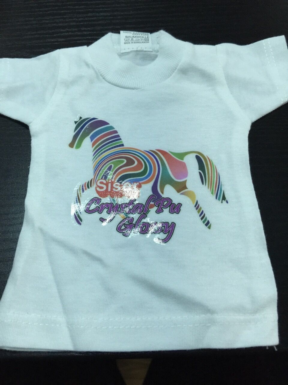 water based latex screen printing ink for kid's clothes