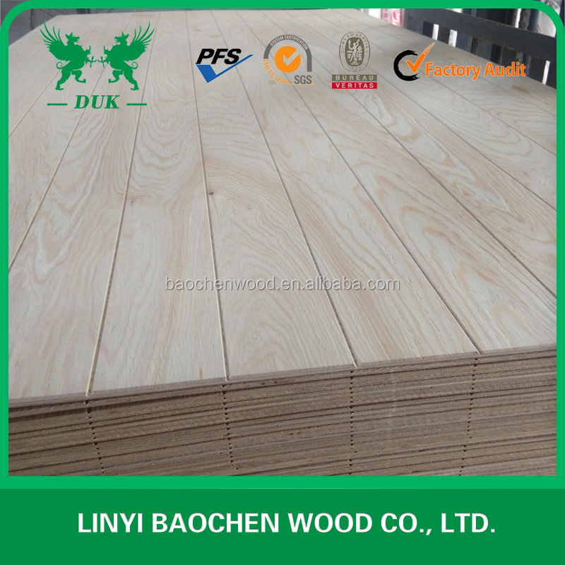 Professional tongue and groove slot plywood manufacturer