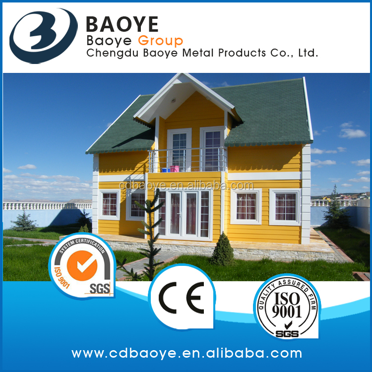 Corrugated steel sheet modular house with best price