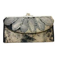 fashion purse with canvas hodling credit card wallet for women