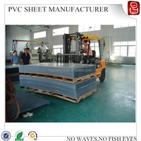 pvc clear sheet/transparent pvc film/Blue Light PVC Clear Roll