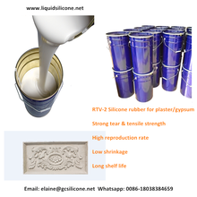 Free catalyst RTV-2 Molding Silicone Rubber for GRC/Plaster products