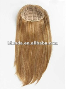 top quality blonde belle russian hair 3/4 full head clip hair extension