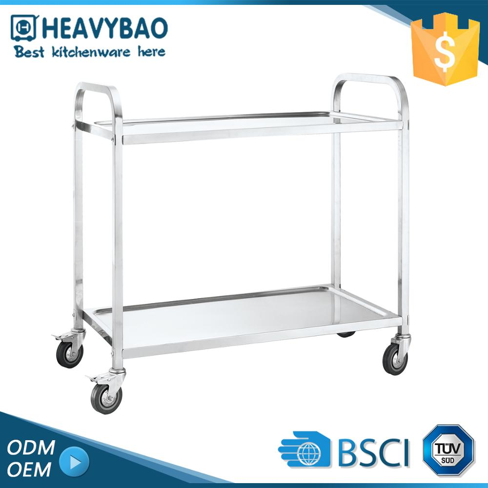 Heavybao Superior Quality Stainless Steel Baking Tray Germany Danish Trolley