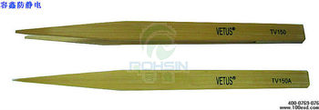 Cheap Bamboo Cleanroom yellow tweezers