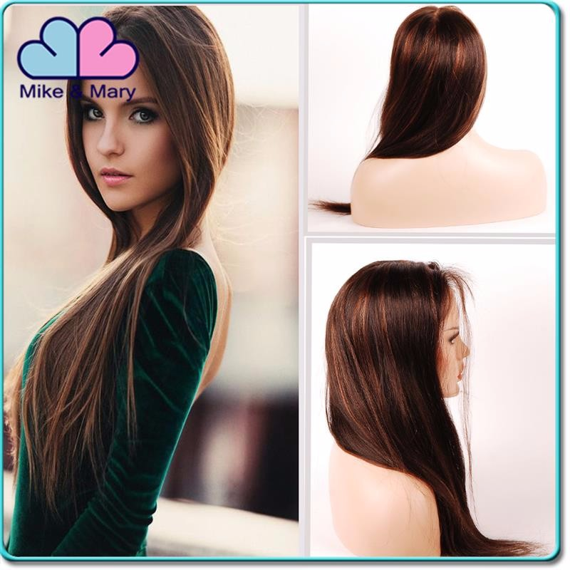 Aliexpress Hair Unprocessed Kinky Straight Brazilian Human Hair Wig 7A Virgin Brazilian Human Hair Full Lace Wig For Black Women