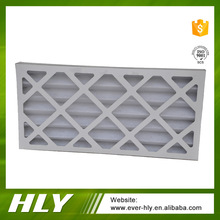 Air conditioning paper frame panel cardboard furnace air filter f7