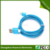 2017 good present 8 Pin Light Usb Cable metal insulating sleeving cable For Iphone 6 6s Plus 5s 5 Ipad mini