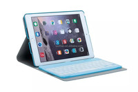 DIHAO 360 degree rotatable case for ipad air/ air 2/ mini with blueteeth keyboard