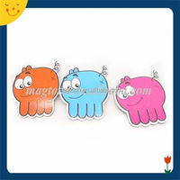Customized magnetic animal stickers for fridge