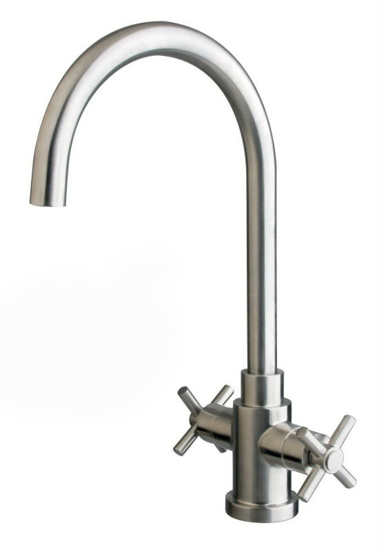 stainless steel bibcock and basin facuets for high kitchen faucets