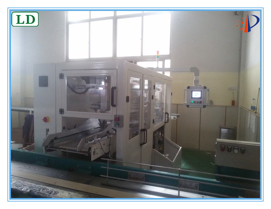 Servo Motor Control Automatic Baby Diaper, Wet Tissue Packing/ Wrapping Machine/Horizontal Flow Packaging