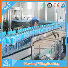Automatic bottled aerated mineral water making machine price made in China