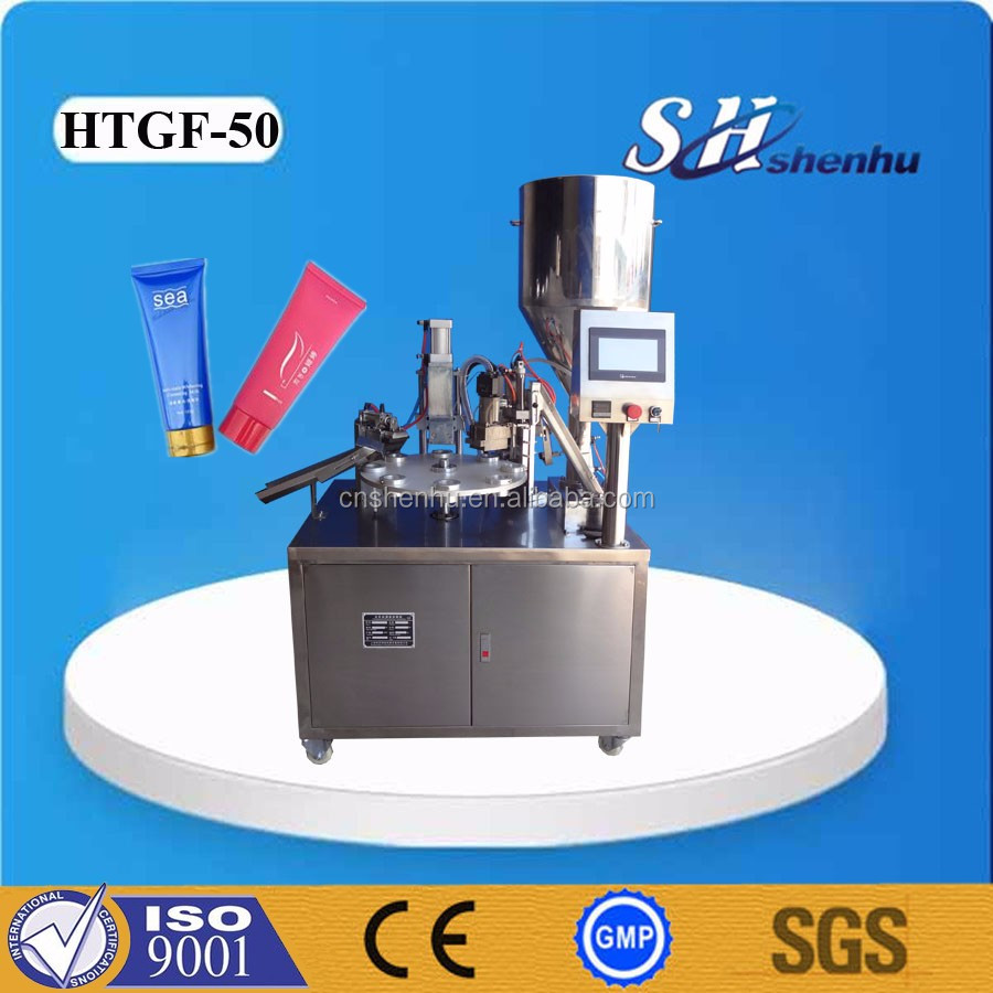 High quality manual filling machine for cream / liquid / shapoo / cosmetic / paste / lotion / ointment