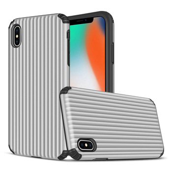 Suitcase design TPU PC Hard Phone Case For iPhone XS Back Cover
