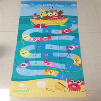 Best Price Reactive Printed 100% Cotton Velour Beach Towel