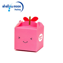 small paper colorful cake pie box wholesale