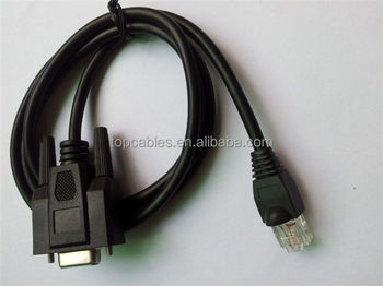 Serial console Cable D sub 9pin female to RJ45